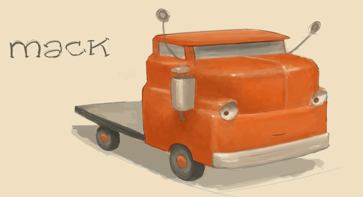 Trucktown Sketch of Mack