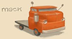 Trucktown Sketch of Mack