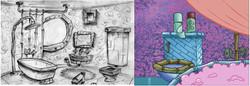 Design for Spongebob's Bathroom