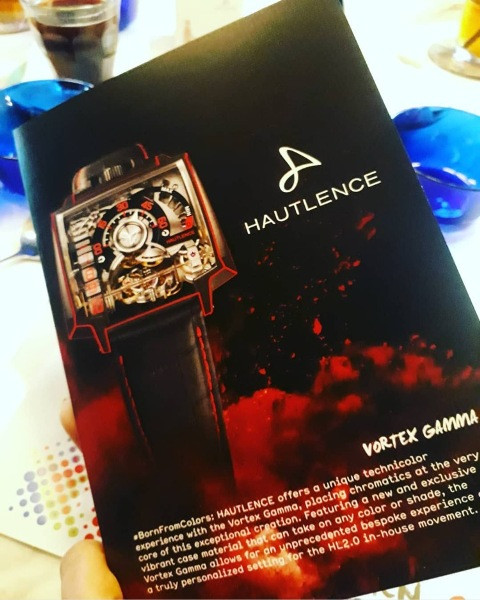 Press Lunch for the launch of Hautlence - Vortex Gamma
