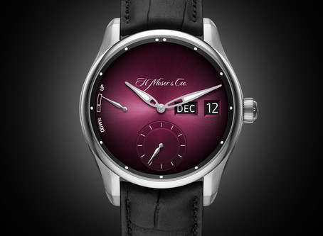 New Luxury Watches : A Dual Window Display For The New Perpetual Calendar From H. Moser & Cie.