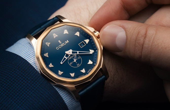 THE ADMIRAL 42 AUTOMATIC BRONZE