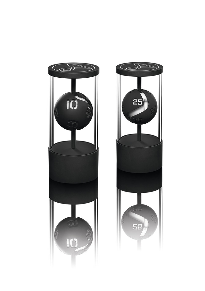 HAUTLENCE KINETIC TABLE CLOCK