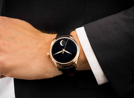 H. MOSER & CIE. Supports Only Watch With a Unique Vantablack Timepiece