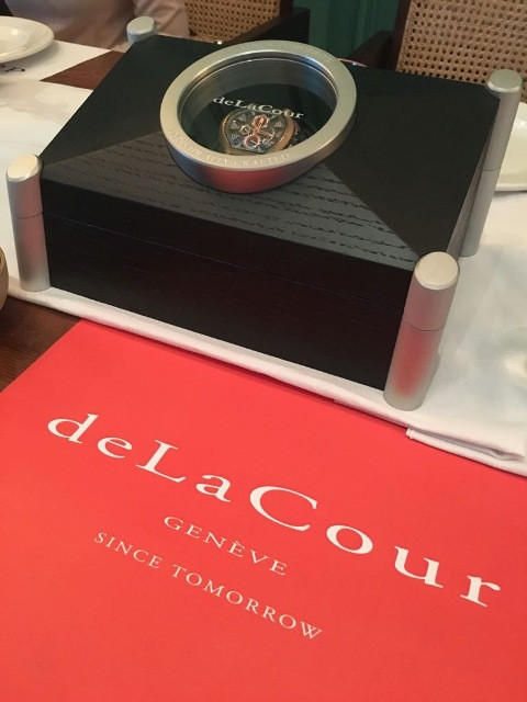 deLaCour Indonesia limited edition Bronzo II : Press Lunch & Unveil