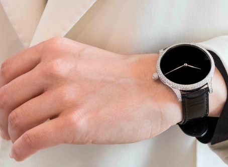 H. Moser & Cie. Diamonds And Vantablack