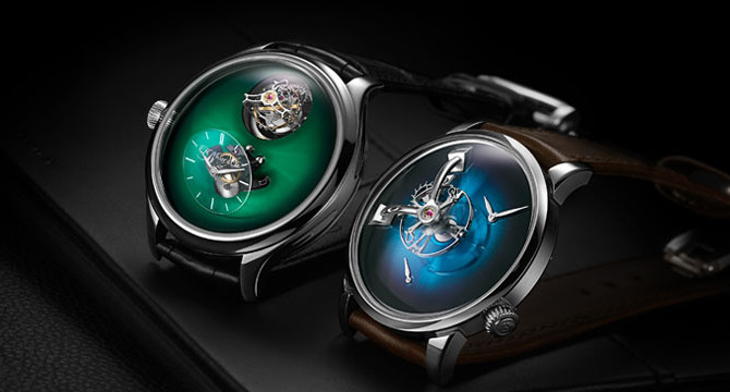 The Unprecedented Collaboration – H. Moser & Cie x MB&F