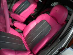 Custom Pink Interior