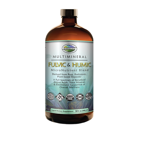 MultiMineral Fulvic & Humic MicroNutrient Blend