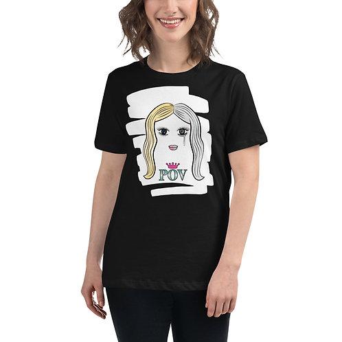 Women's Relaxed T-Shirt Black