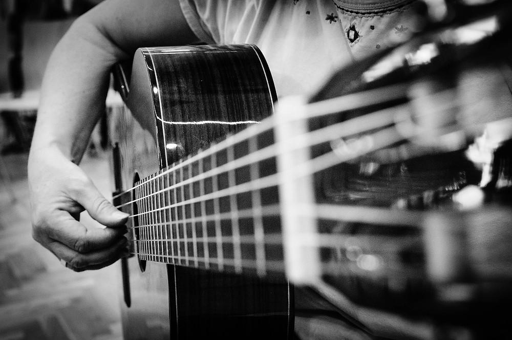 Fingerstyle-Gitarre