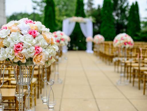 Dauer des Hochzeits-Einzugs