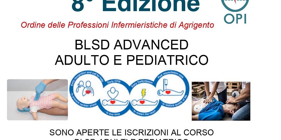 BLSD ADVANCED ADULTO E PEDIATRICO  8° Edizione