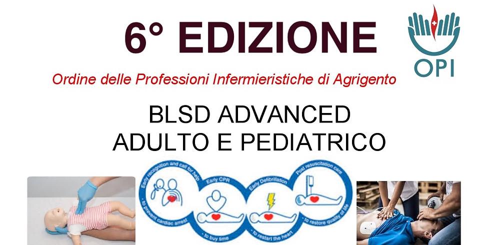 BLSD ADVANCED ADULTO E PEDIATRICO  6° Edizione