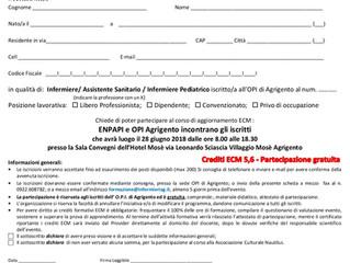 Corso di aggiornamento ECM ID 20 Evento n° 5085 Ed. 1
