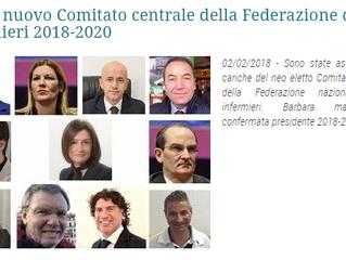 Ecco il nuovo Comitato centrale della (FNOPI) Federazione Nazionale Ordini Professioni Infermieristi