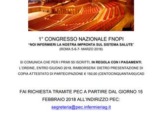 1° Congresso Nazionale FNOPI