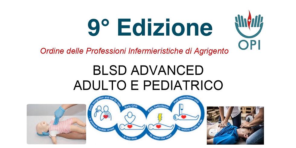 BLSD ADVANCED ADULTO E PEDIATRICO  9° Edizione