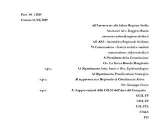 """PROPOSTA DI EMENDAMENTO ALLE """"LINEE D'INDIRIZZO REGIONALI PER LA RIDETERMINAZIONE DELLE DOTAZION"""