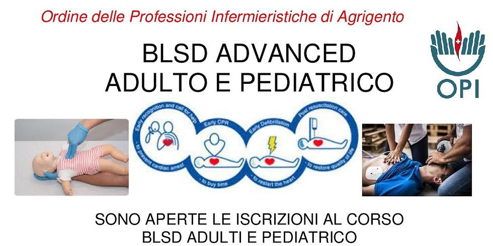 BLSD ADVANCED ADULTO E PEDIATRICO  7° Edizione