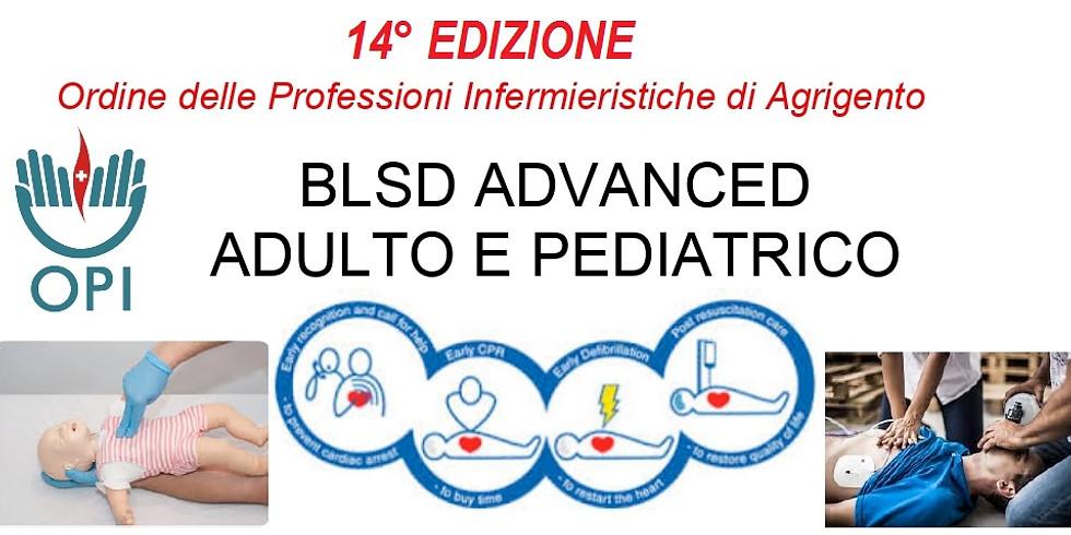 BLSD ADVANCED ADULTO E PEDIATRICO  14° Edizione