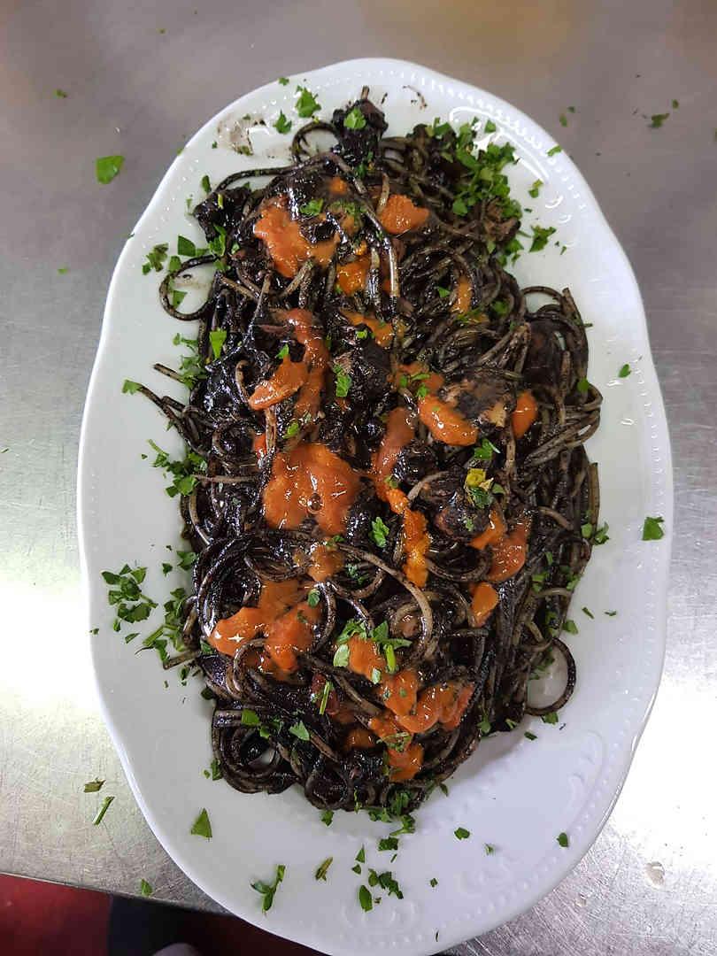 Spaghetti al Nero di Seppia