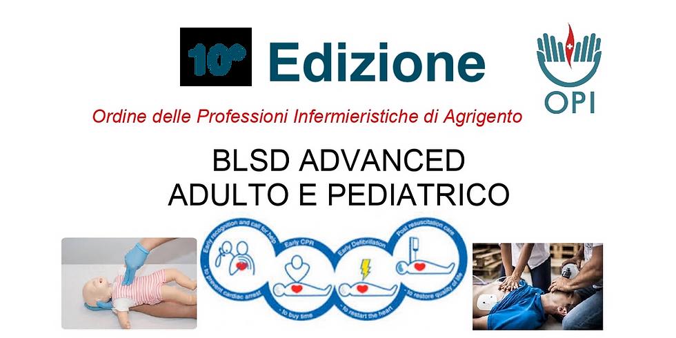 BLSD ADVANCED ADULTO E PEDIATRICO  10° Edizione