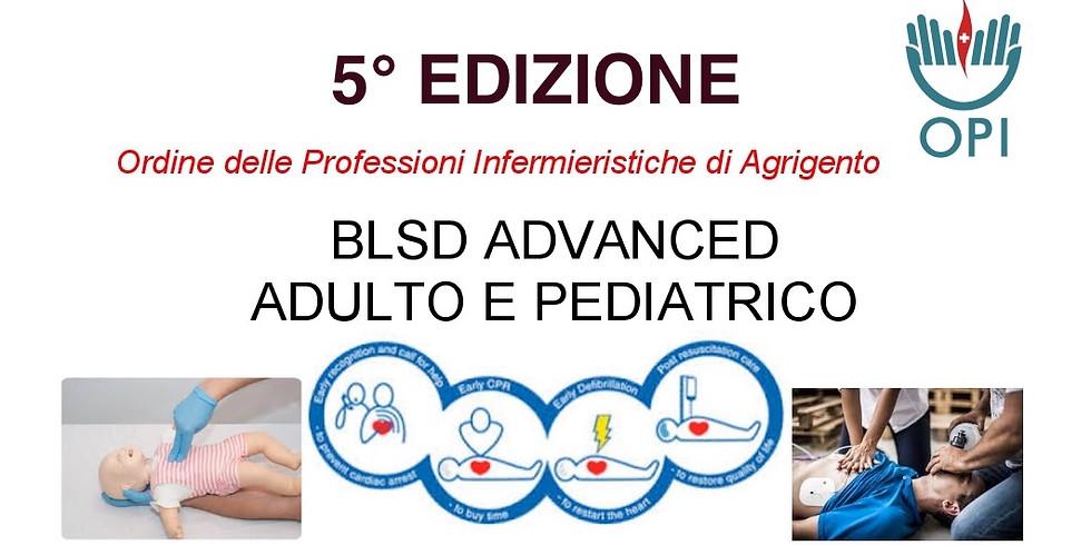 BLSD ADVANCED ADULTO E PEDIATRICO  5° Edizione