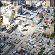 Windsor Detroit Tunnel Plaza