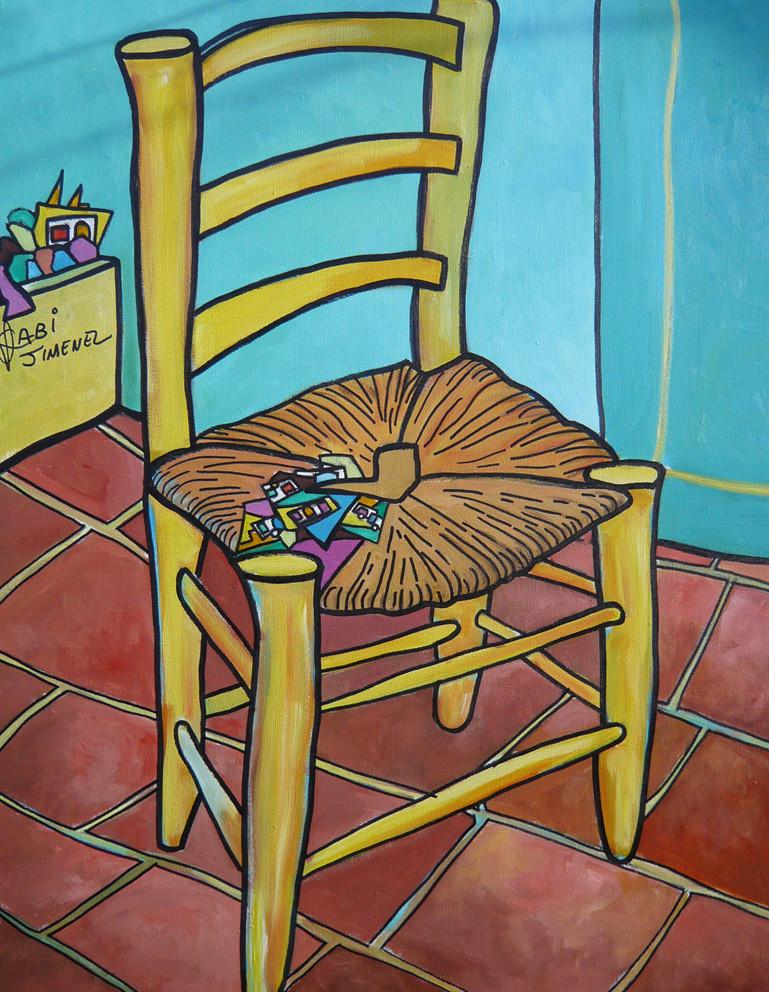 La chaise de Van gogh a vendre
