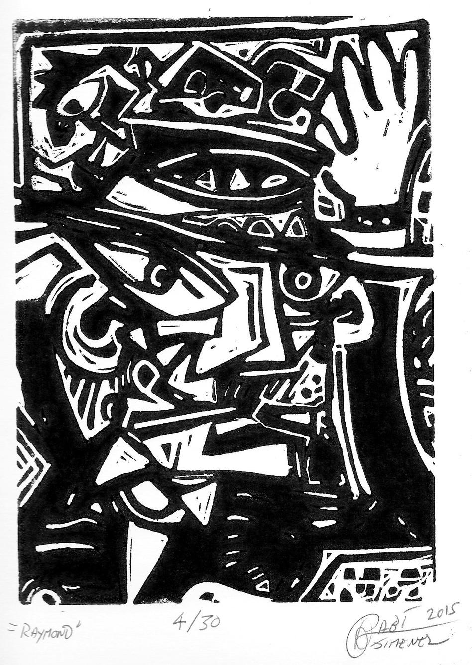 Gravure Raymond Gurème