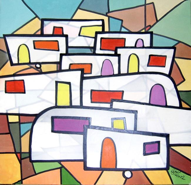 Caravanes vitrail
