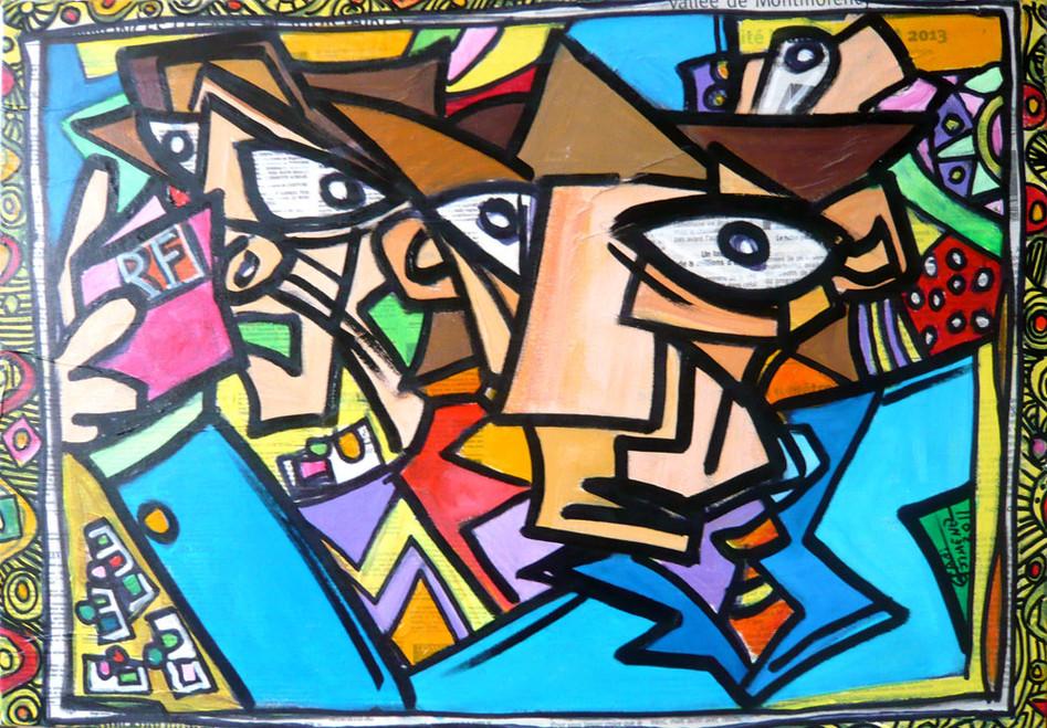 République française_55 x 38 cm