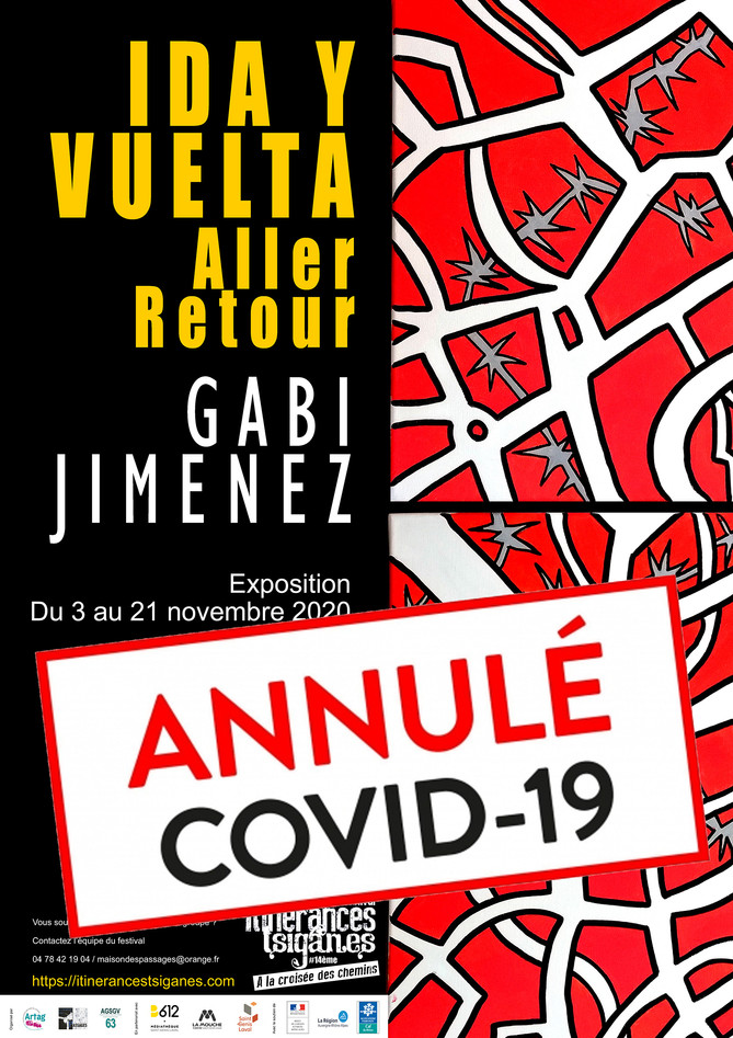affiche Expo IDA Y VUELTA annulée
