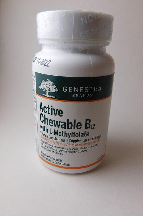 Active Chewable B12 (Genestra)