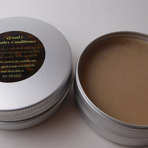 Wood & Leather Conditioner
