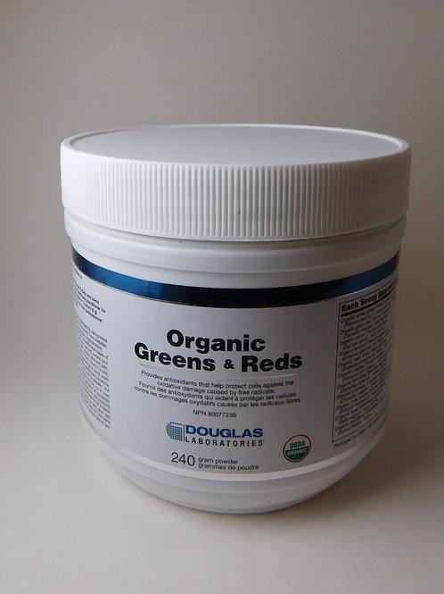 Organic Greens & Reds Douglas Labs