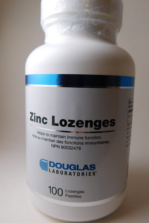 Zinc Lozenges (Douglas Labs)
