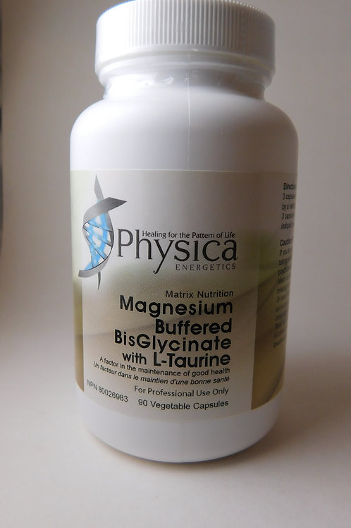 Magnesium Bis-Glycinate w/ Taurine (Physica)