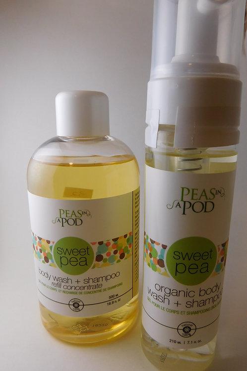 Baby wash & shampoo Peas In a Pod