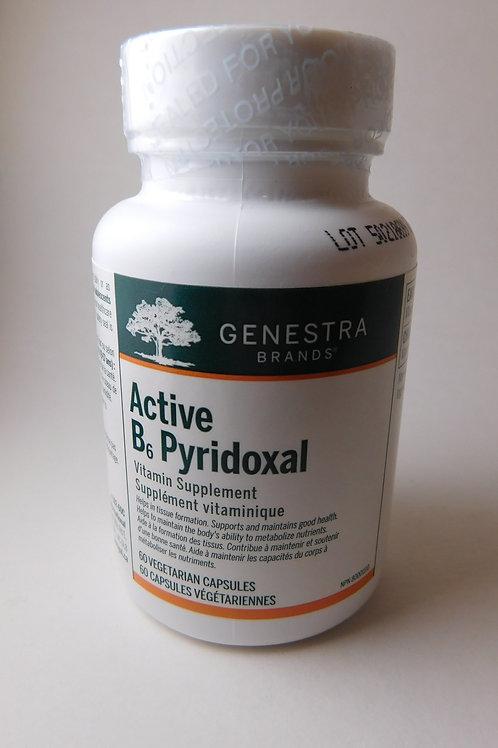 Vitamin B6 Active Pyridoxal (Genestra)
