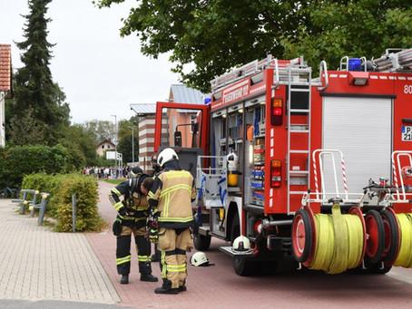 Räumungsübung Gottfried-Semper-Schule