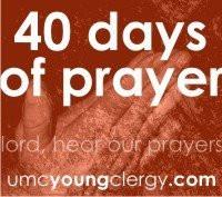 40 days of prayer begins today