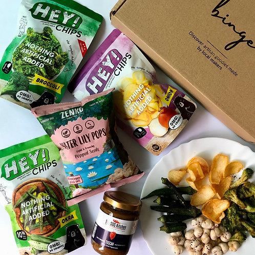 Eat Your Veg - Savoury Snacking