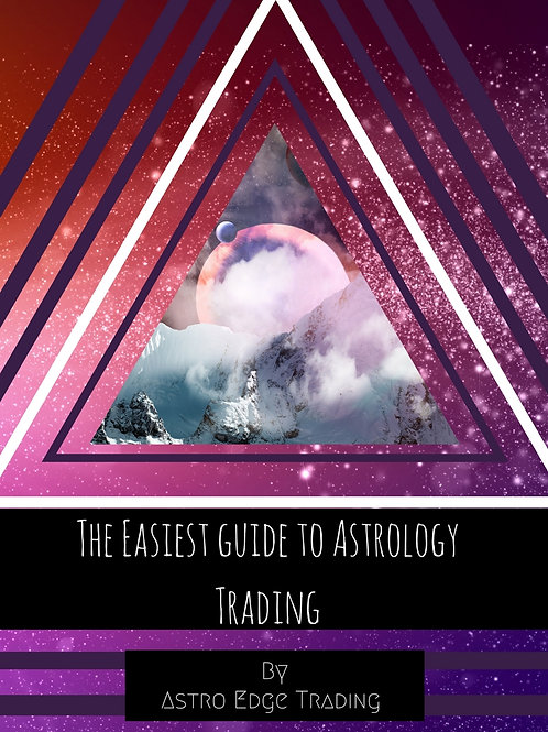 E-Book: The Easiest Guide To Astrology Trading
