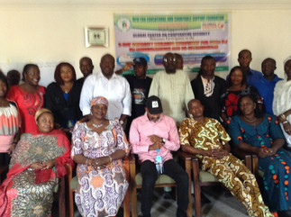 NEEDCSI Trains CSOs, NGOs & FBOs on RRD