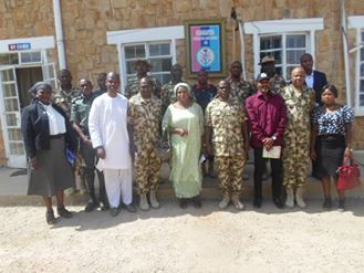 NEEDCSI Advocacy Visit to Military Special Task Force