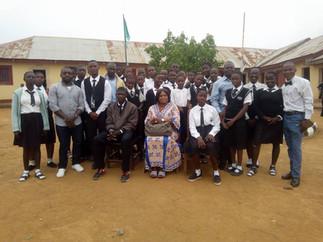 NEEDCSI-PIN conducts Peace Education at Kings Secondary School