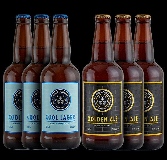 Welcome Box -3un de Cool Lagere 3un de Golden Ale