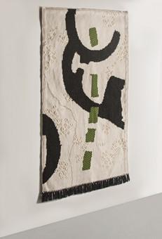 Nuragic White Tapestry
